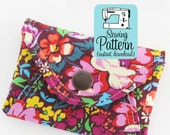 Secret Pocket Envelope Clutches PDF Sewing Pattern | Clutch Sewing Pattern | Pouch Sewing Pattern | Phone Pouch Pattern