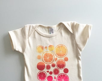 Summer Citrus Infant Tee (3-6mo)