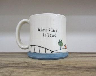 Harstine Island Mug
