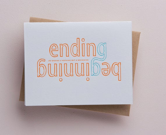 An ending is nothing but a beginning