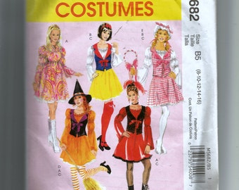 McCall's Misses'  and Women's Character Costumes Pattern M5682