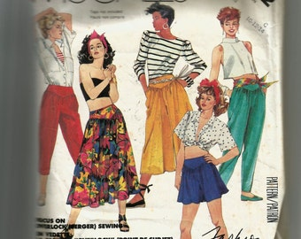 McCall's Misses' Skirt, Culotte, Shorts, and Pants Pattern 3032