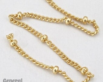 2mm Matte Gold Satellite Chain #CCG210