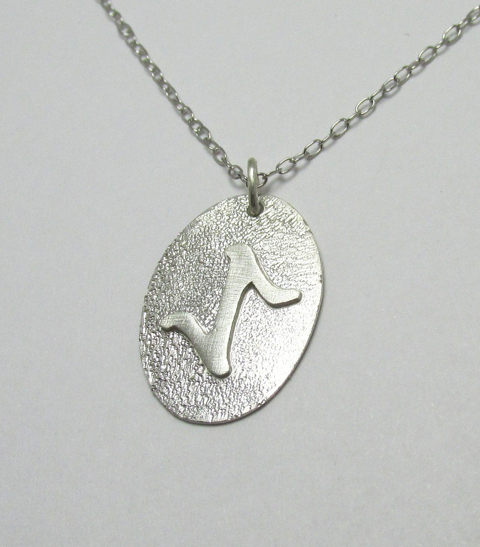 eihwaz rune enlightenment pendant necklace nordic