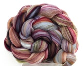 Tapestry -  Luxury Merino and Silk Blend Top Fine Merino Fiber for Felting or Spinning Yarn