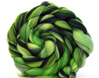 Merino Combed Wool Top - Rainforest 50g 100g