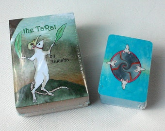 The TaRat Rat Tarot Card Set - Mini and Full Sized Deck - Special Price