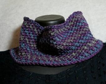 Aura handmade crochet neckwarmer