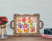 Fruity Fun Cross-Stitch Pattern
