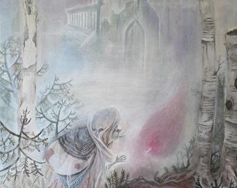 Other Lands I  // Faerie / Fantasy Art Print