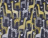 1 yard Giraffe Love, matches Tula's Spotted Love SSC
