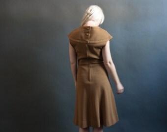 sugar wife 60s a line dress / vintage MOD dress / scooter dress / s / 1353d