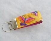Mini Key Fob  - Laurel Burch butterflies