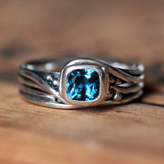rustic engagement ring set alternative engagement ring