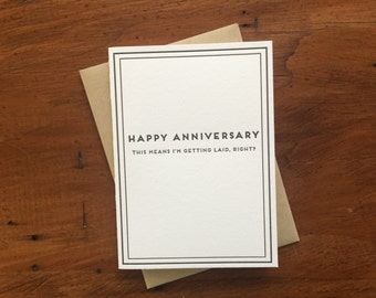 Anniversary: Cards for Dudes
