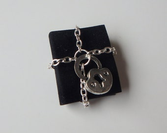 Miniature Dollhouse Chained Book with Lock Halloween Witch Wizard Fairy
