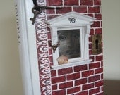 Journal: Altered book art box safe window one of a kind