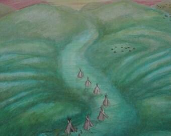 Dragon Hills Print