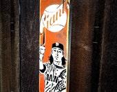 San Francisco Giants Tim Lincecum Graffiti Painting on Canvas Pop Art Style Original Artwork Stencil Urban Street Art Artwork World Series
