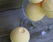 Ginger Peach Bath Bombs - made with Olive Oil and Shea Butter