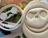 Jack Skellington Face2 Cookie Cutter / Made From Biodegradable Material / Brand New / Party Favor / Kids Birthday / Halloween / Scary