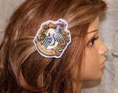 Harry Potter Hufflepuff House Crest Hair Clip MTCoffinz