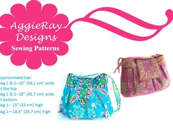 INSTANT DOWNLOAD pdf Sewing Pattern Michelle Handbag Two Styles  Create and Sell Product