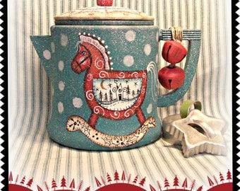 Apple Tree Cottage Original Design E Pattern - Santa's Rocking Horse