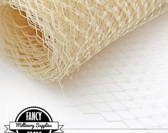 Nude - Russian / French Veiling - Netting - 1 Yard