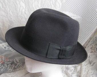 Vintage Man's Stetson Hat - Man's Hat size 7 - Bencraft Hatters