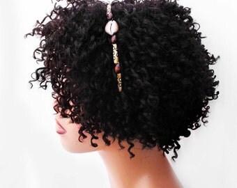 Headband, Natural Hair Headband, Natural Hair Accessories, Hair Jewelry, Natural Hair, Hair Decor, Afropunk, African Woman Headband