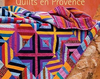 Kaffe Fassett Quilts en Provence Fabric Quilting Book Featuring 20 Designs