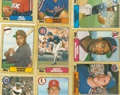 """132 Old Vintage 1987 Topps Baseball PICTURE Cards """"TRADED"""" SERIES"""