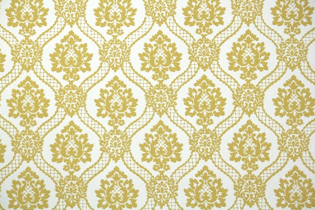 navy blue and gold striped wallpaper