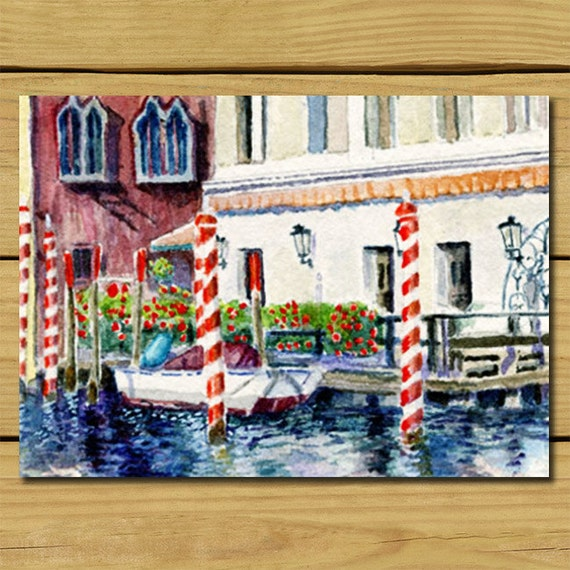 Venice Italy Home Decor Room Art Art Print Gift For By