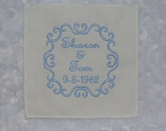 Wedding Gown Label. . . Your Something Blue . . . Wedding Dress Label Tag . . . FREE SHIPPING in USA
