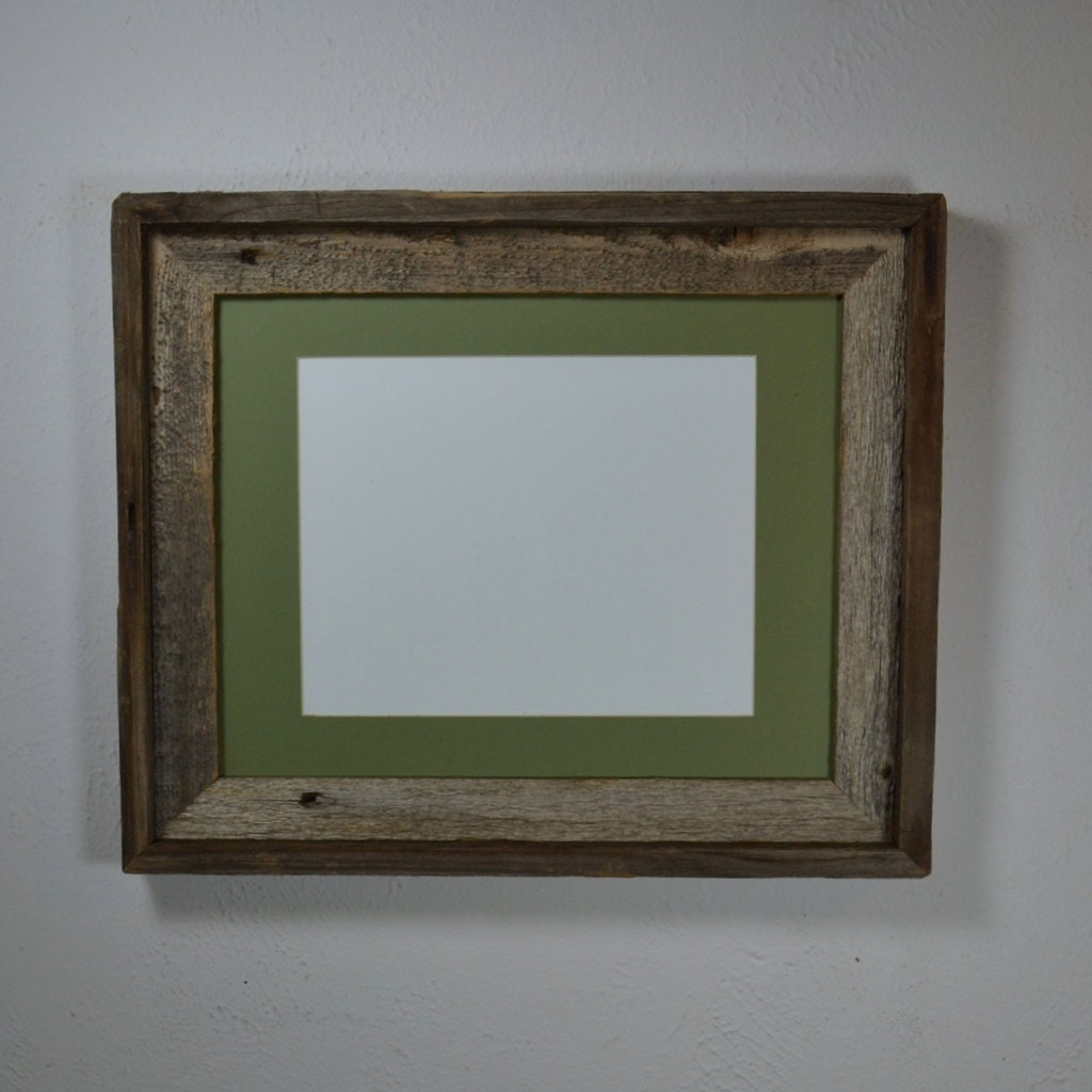 11x14 Barnwood Frame With Mat For 8x108 1 2x118x12 By