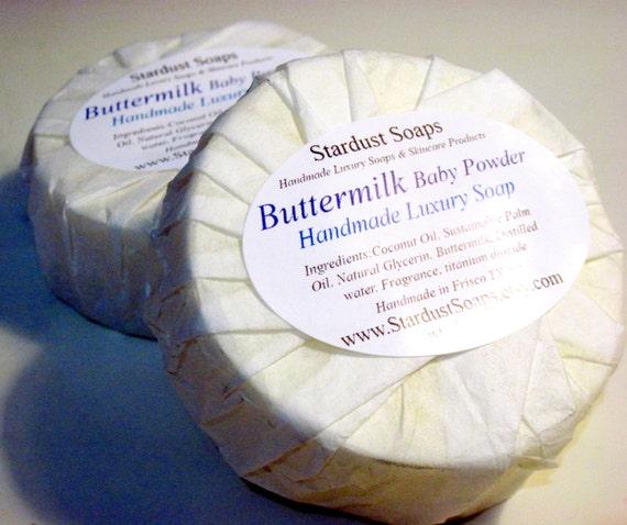 Buttermilk Baby Powder Bar Soap