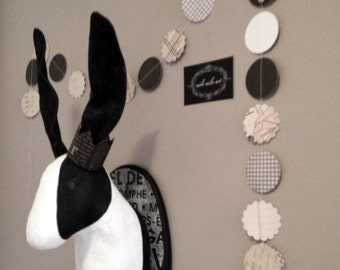 SALE Rabbit Faux Taxidermy