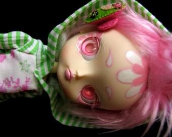 SALE - Zombuki Pink Frosting aka Grumble Cake - Custom Dal Doll
