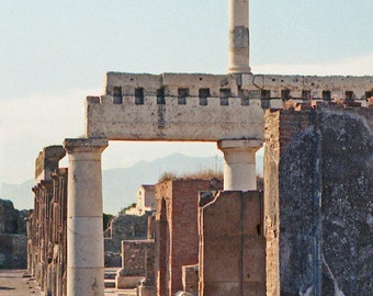 3 Photo Set, Pompeii Prints, Italy Photograph, Pompeii Photo, Italy Decor, Architecture, Office Decor Fine Art, Wall Decor, Apartment Decor