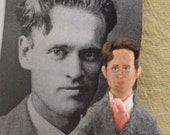 Philo Farnsworth Television Inventor Doll Miniature Greatest Inventions in History Series