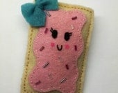 Strawberry Pop-tart felt Pin