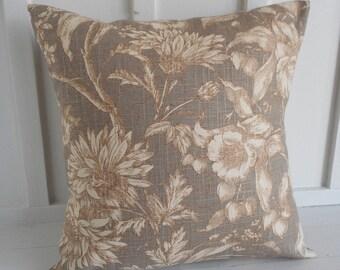 pillow cover cushion cover decorative pillow botanical 20x20