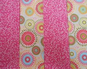 Pink  Jelly Roll 20 Fabric Strips