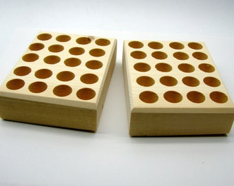 Stamp Set Large Storage and Organization Blocks Have 40 Holes That Are 3/4""