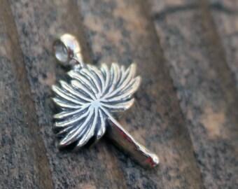 Dandelion Charm Sterling silver