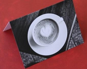 Whole Latte Love Notecard