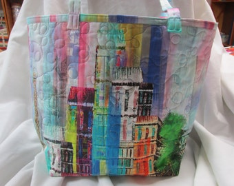 Paris In The Spring  tote bag - REDUCED