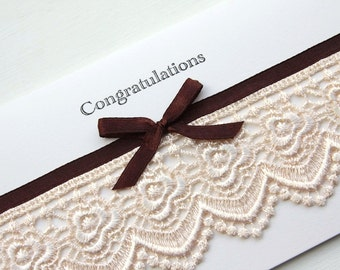 Charlotte Wedding Gift Card-Money or Voucher Holder